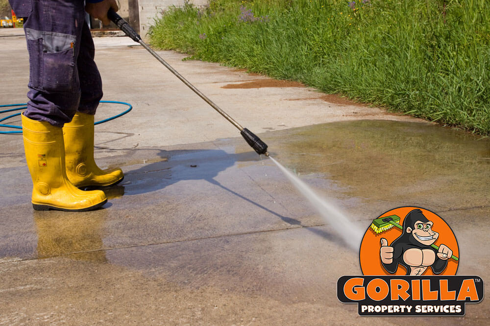 gorilla property services kelowna pressure washing services