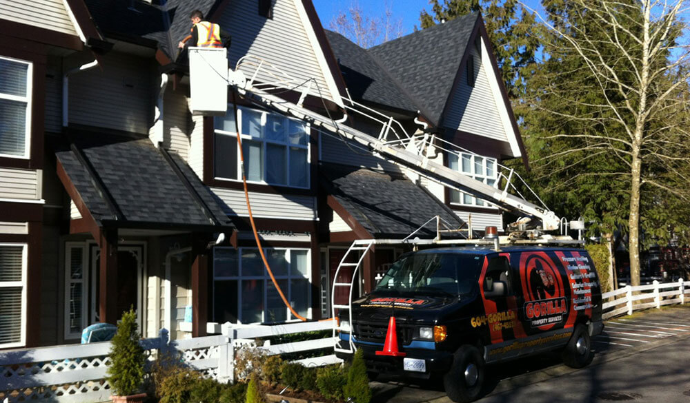 Vancouver Roof Cleaning