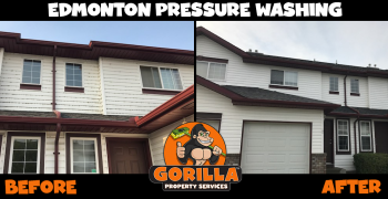 edmonton pressure washing