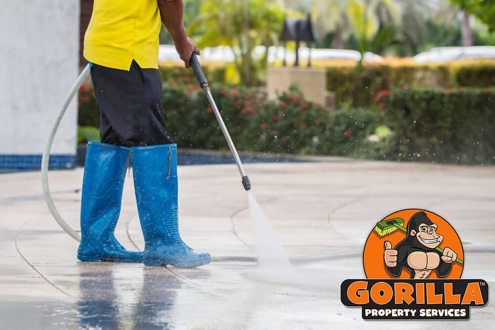Brandon Pressure Washing Gorilla Property Services