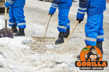 north vancouver snow removal