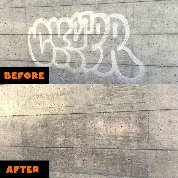 Graffiti Removal Gorilla Property Services