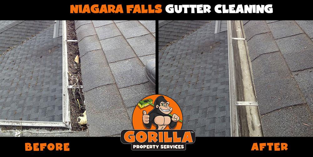 niagara falls gutter cleaning