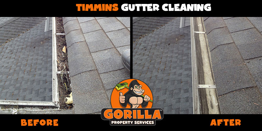timmins gutter cleaning
