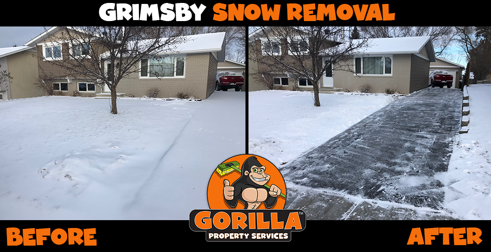 grimsby snow removal