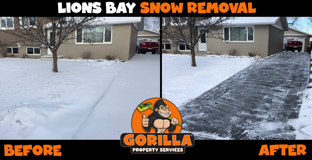 lions bay snow removal