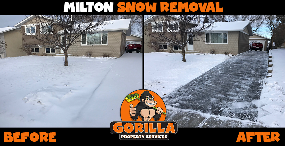 milton snow removal