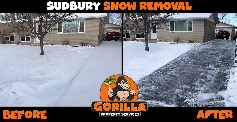 sudbury snow removal
