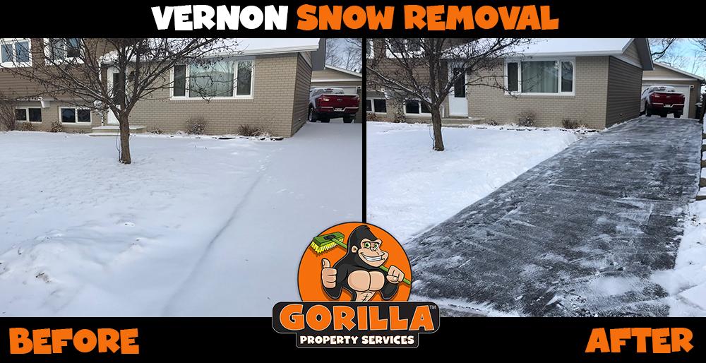 vernon snow removal