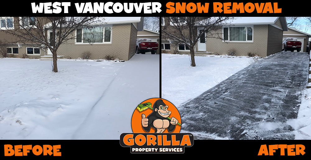 west vancouver snow removal