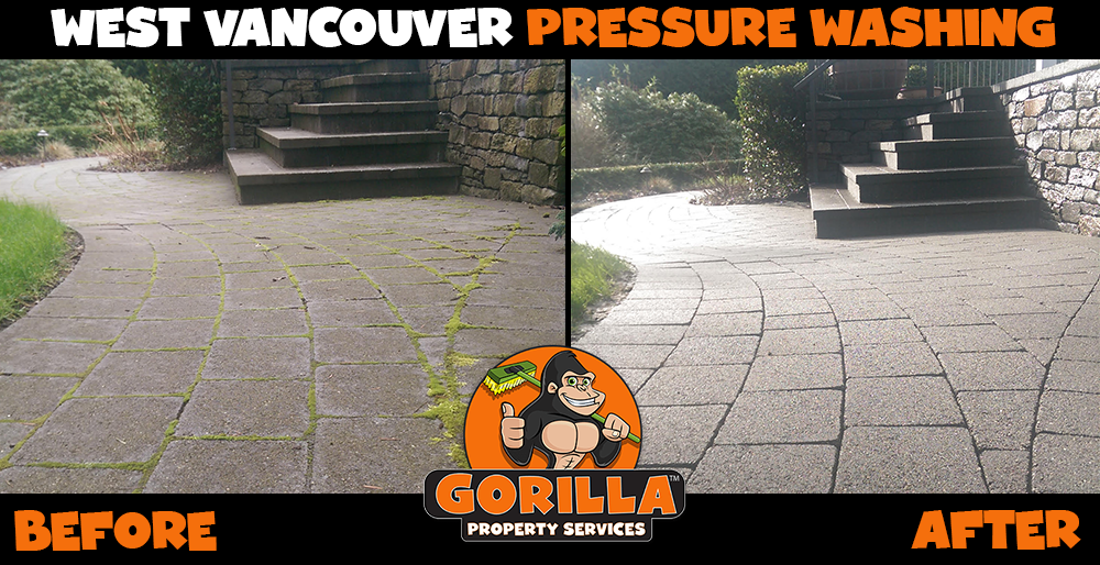 west vancouver pressure washing