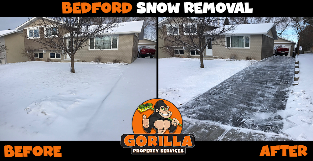 bedford snow removal