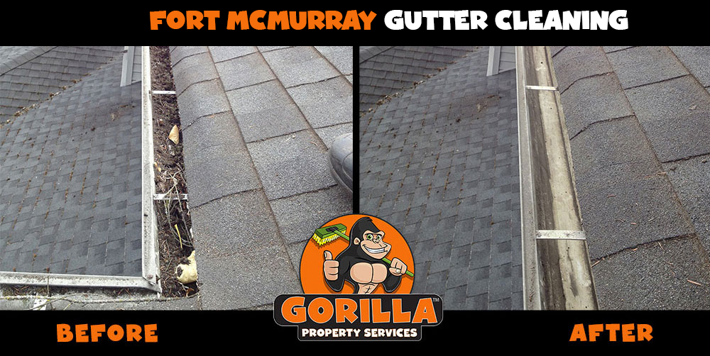 fort mcmurray gutter cleaning