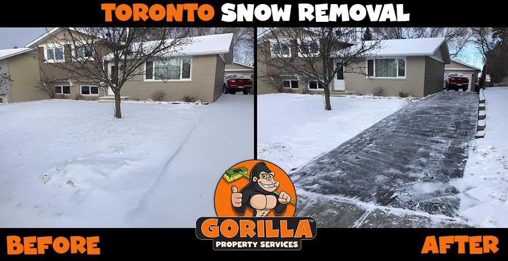 toronto snow removal