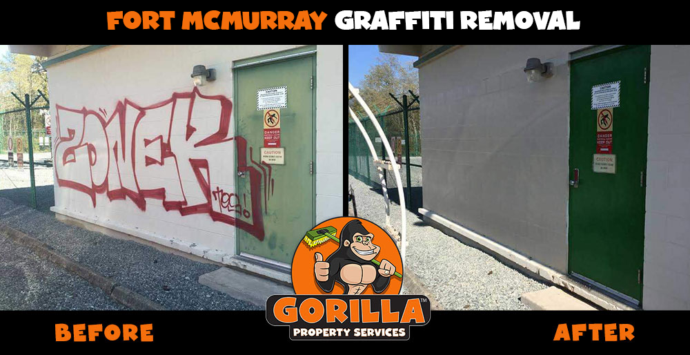 fort mcmurray graffiti removal