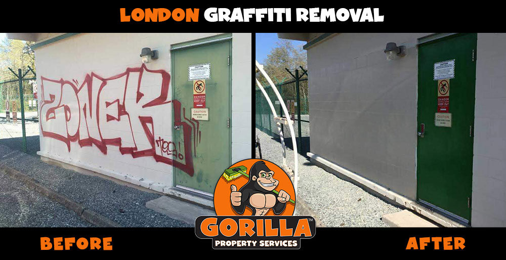 london graffiti removal