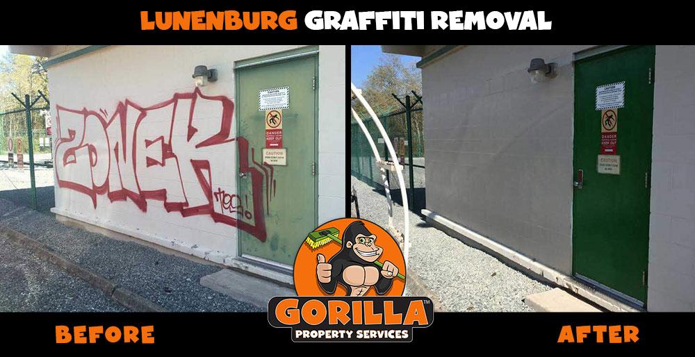 lunenburg graffiti removal