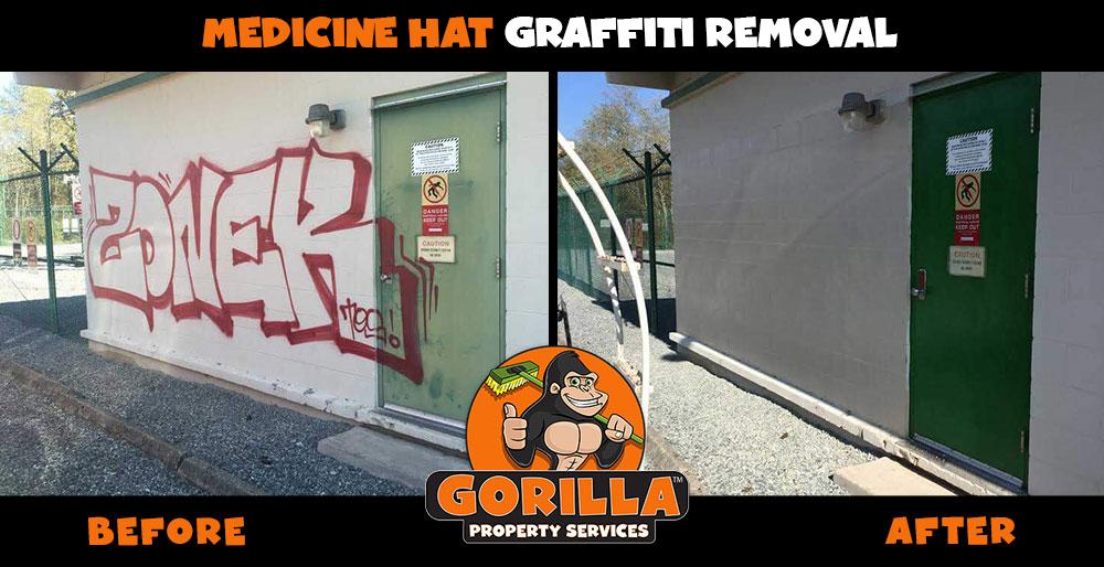 medicine hat graffiti removal
