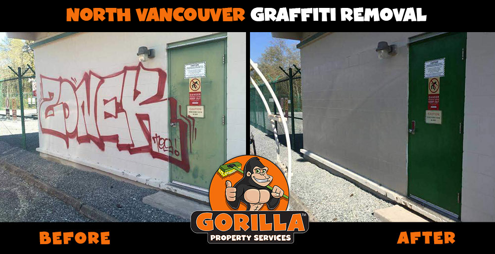 north vancouver graffiti removal