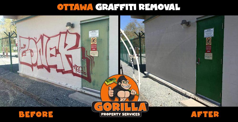 ottawa graffiti removal
