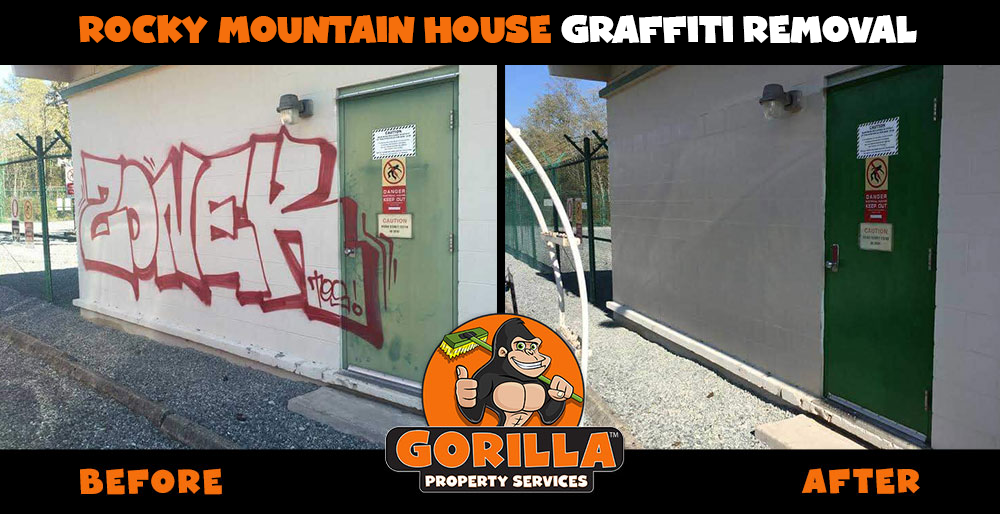 rocky mountain house graffiti-removal