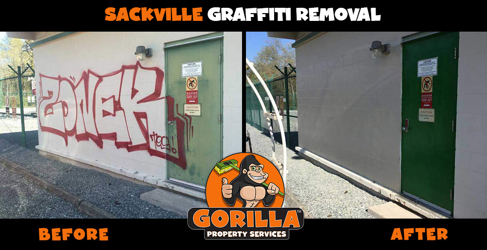 sackville graffiti removal