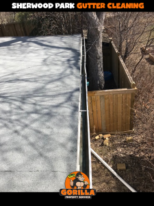 sherwood park gutter cleaning