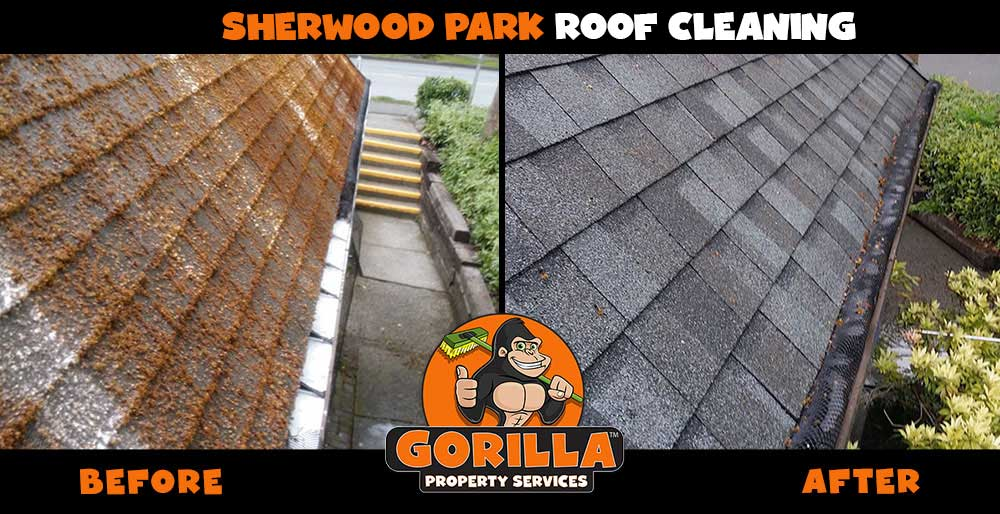 sherwood park roof cleaning