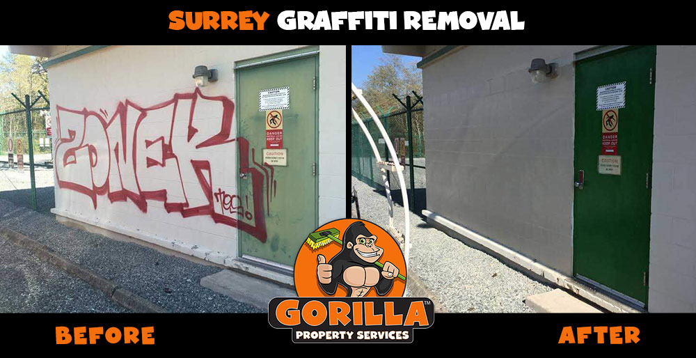 surrey graffiti removal
