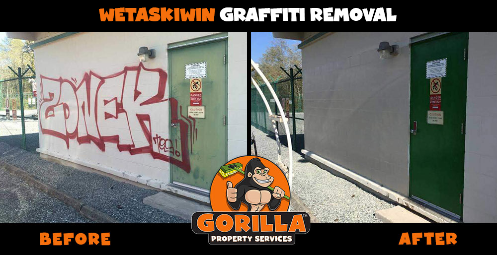 wetaskiwin graffiti removal