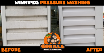 winnipeg pressure washing