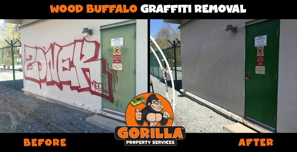 wood buffalo graffiti removal