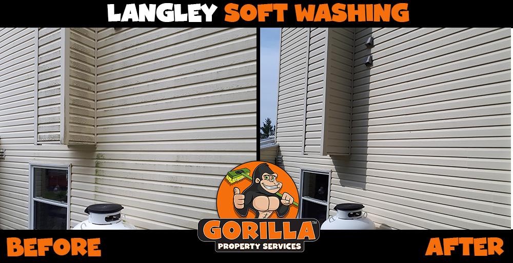 langley soft washing