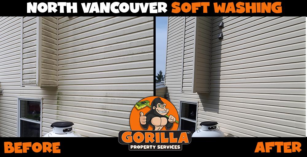 north vancouver soft washing