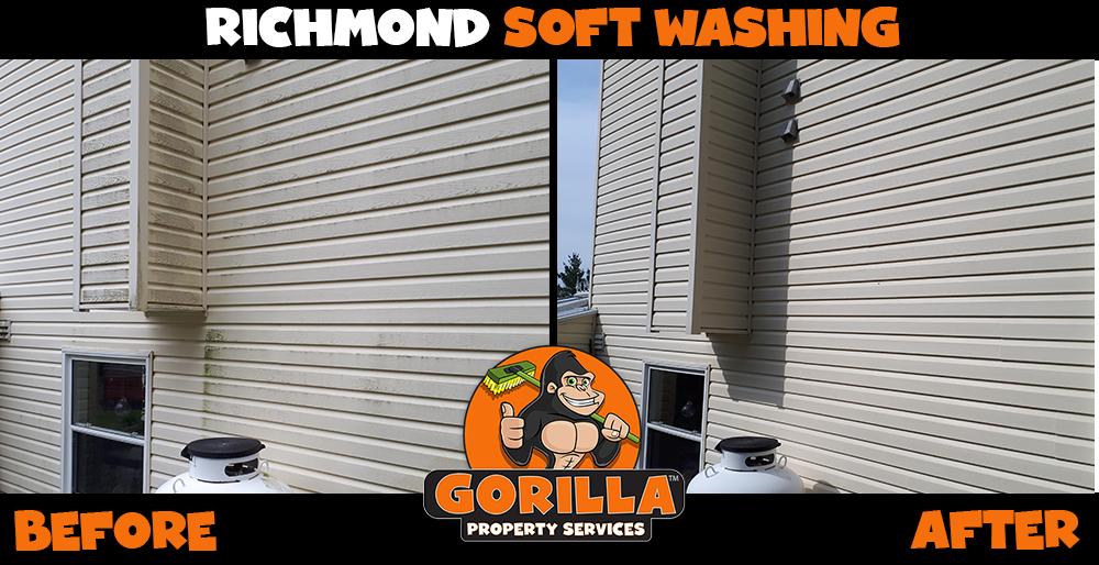 richmond soft washing