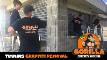 timmins graffiti removal