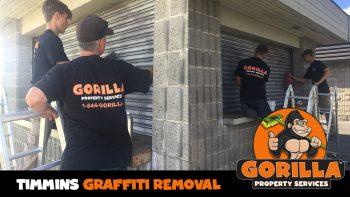 timmins graffiti removal