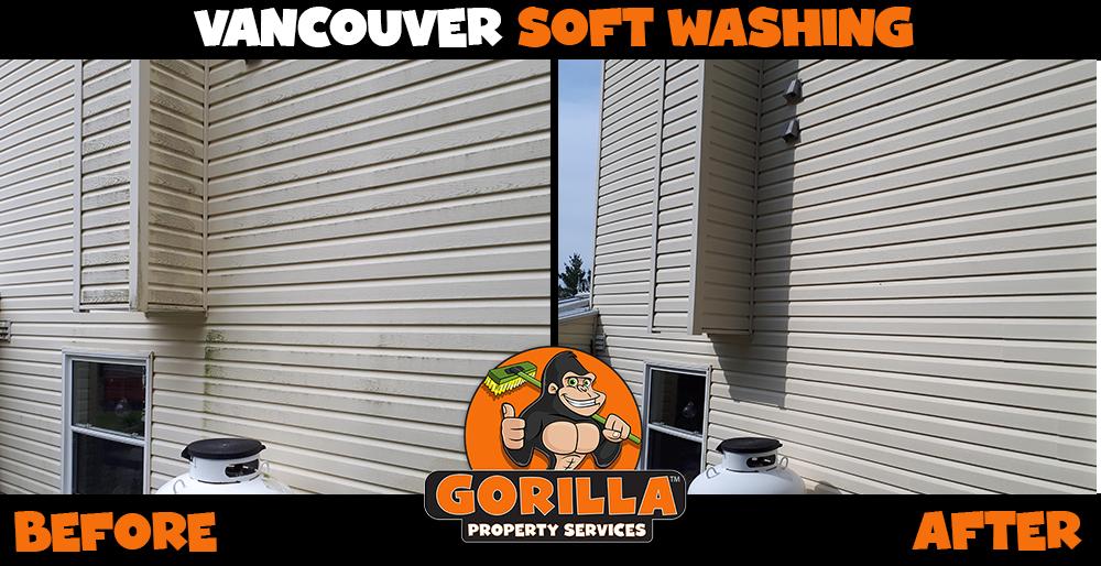vancouver soft washing