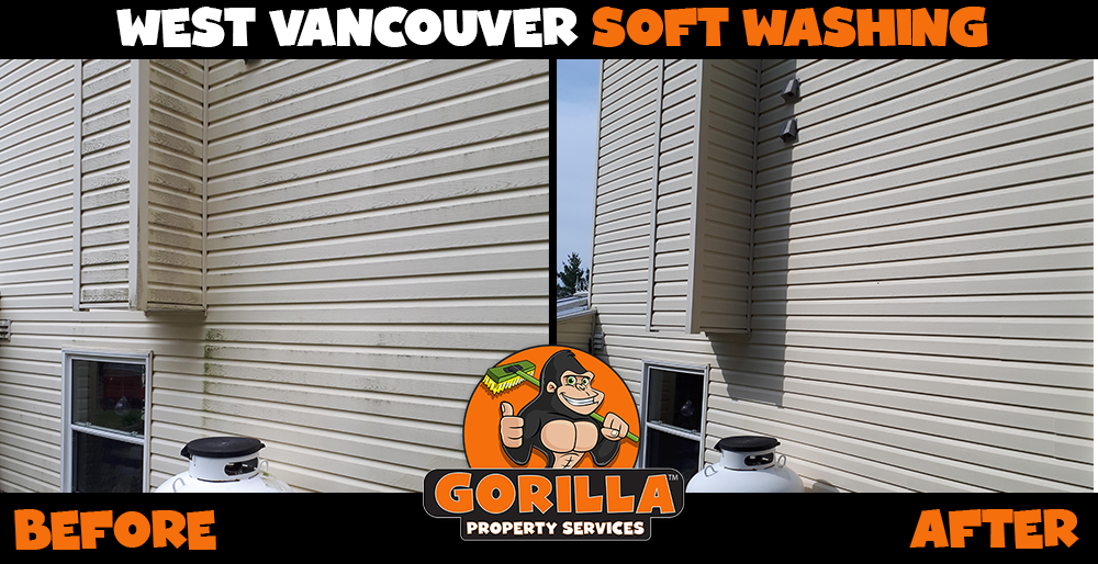 west vancouver soft washing