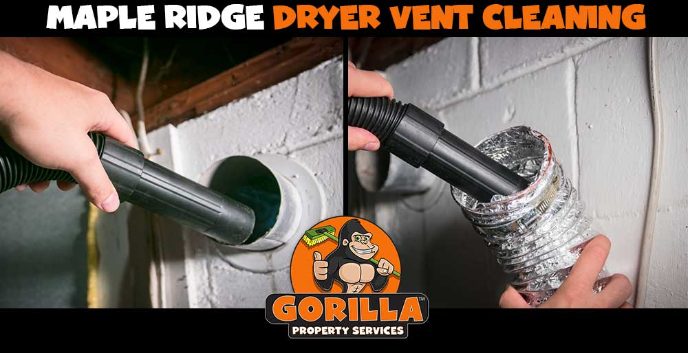 maple ridge dryer vent cleaning