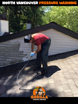north vancouver pressure washing