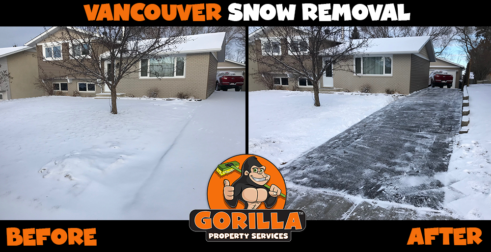 vancouver snow removal