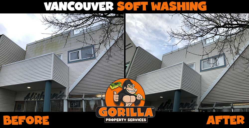 vancouver soft washing