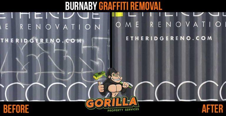 Burnaby Graffiti Removal