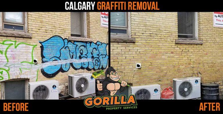 Calgary Graffiti Removal