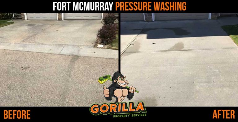 Fort McMurray Pressure Washing