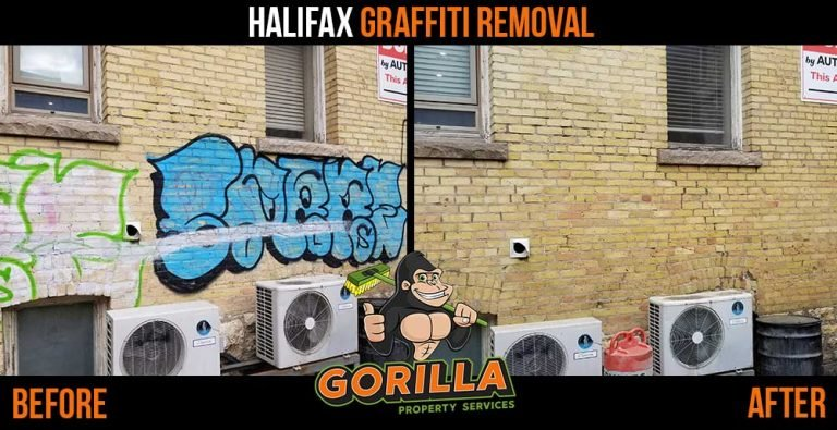 Halifax Graffiti Removal