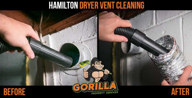 Hamilton Dryer Vent Cleaning
