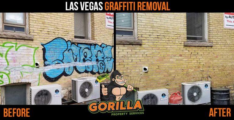 Las Vegas Graffiti Removal