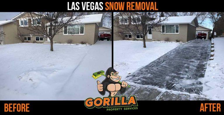 Las Vegas Snow Removal & Salting